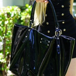 KATE SPADE leather BLACK purse